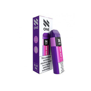 N One Disposable 20MG Nic Salt Vape Pod-Starter Kit-N One-Berry Blast-Cloud Vaping UK