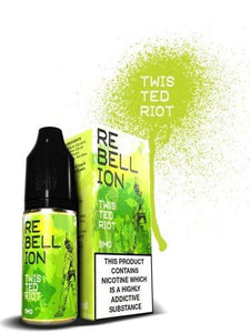 Rebellion Twisted Riot E-liquid 10ml - Cloud Vaping UK