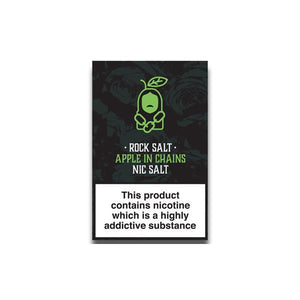 Rock Salt Nic Salt By Alfa Labs 20MG 10ml E-liquid-Vaping Products-Rock Salt-Apple In Chains-Cloud Vaping UK