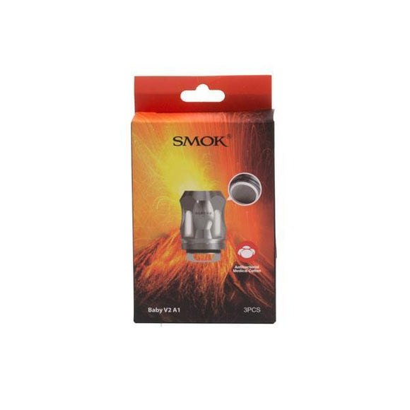 Smok Mini V2 A1 Coil - 0.17 Ohm-Coil-Smok-Silver-Cloud Vaping UK