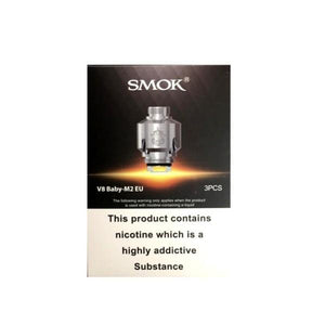 Smok V8 Baby M2 EU Coil – 0.25 Ohm-Vaping Products-Smok-Cloud Vaping UK