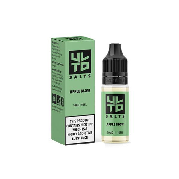 ULTD 10Mg Nic Salt 10ml E-liquid-E-liquid-ULTD-Apple Blow-Cloud Vaping UK
