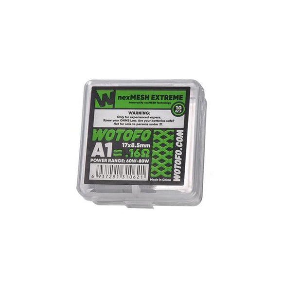 Wotofo NexMesh Mesh Strips 0.16ohms/ 0.15ohms/0.13ohms-Vaping Products-Wotofo-Extreme 0.16ohms-Cloud Vaping UK