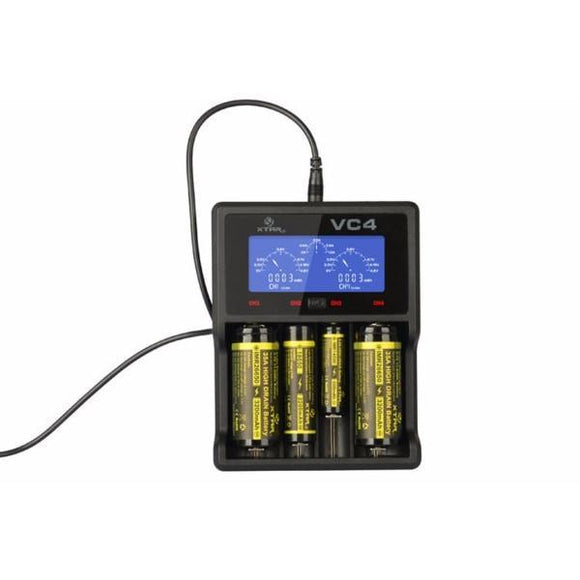 Xtar VC4 Charger-Vaping Products-Xtar-Cloud Vaping UK