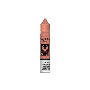 ZAP Juice 10ML 10Mg Flavoured Nic Salts E-liquid-E-liquid-ZAP Juice-Peach Ice Tea-Cloud Vaping UK