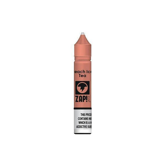 ZAP Juice 10ML 10Mg Flavoured Nic Salts E-liquid-Vaping Products-ZAP Juice-Peach Ice Tea-Cloud Vaping UK