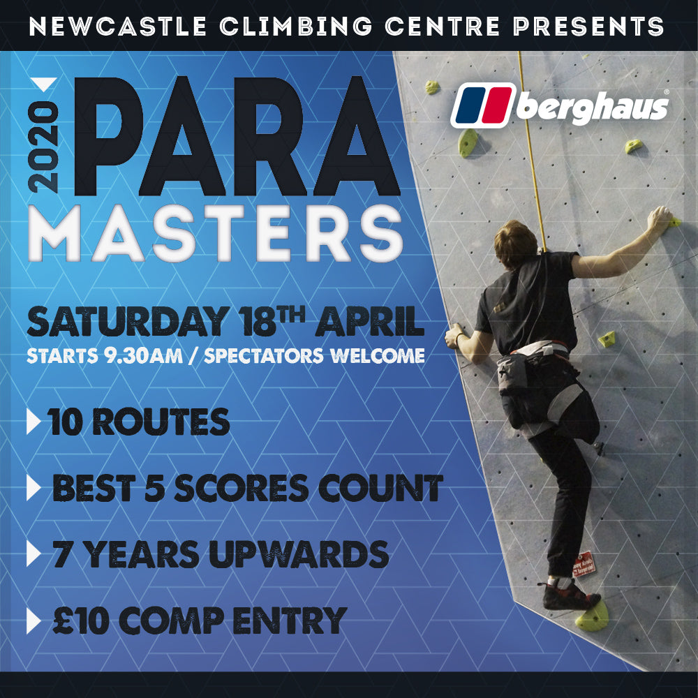 2020 Para Masters Competition Entry