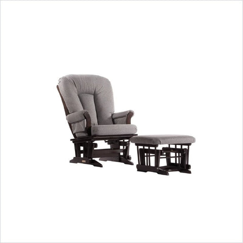 ... Dutailier Sleigh Glider Rocker With Multiposition Lock Recline And  Ottoman