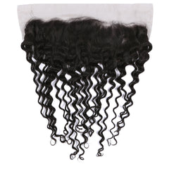 "Curly Lace Frontal 13"" by 4"""