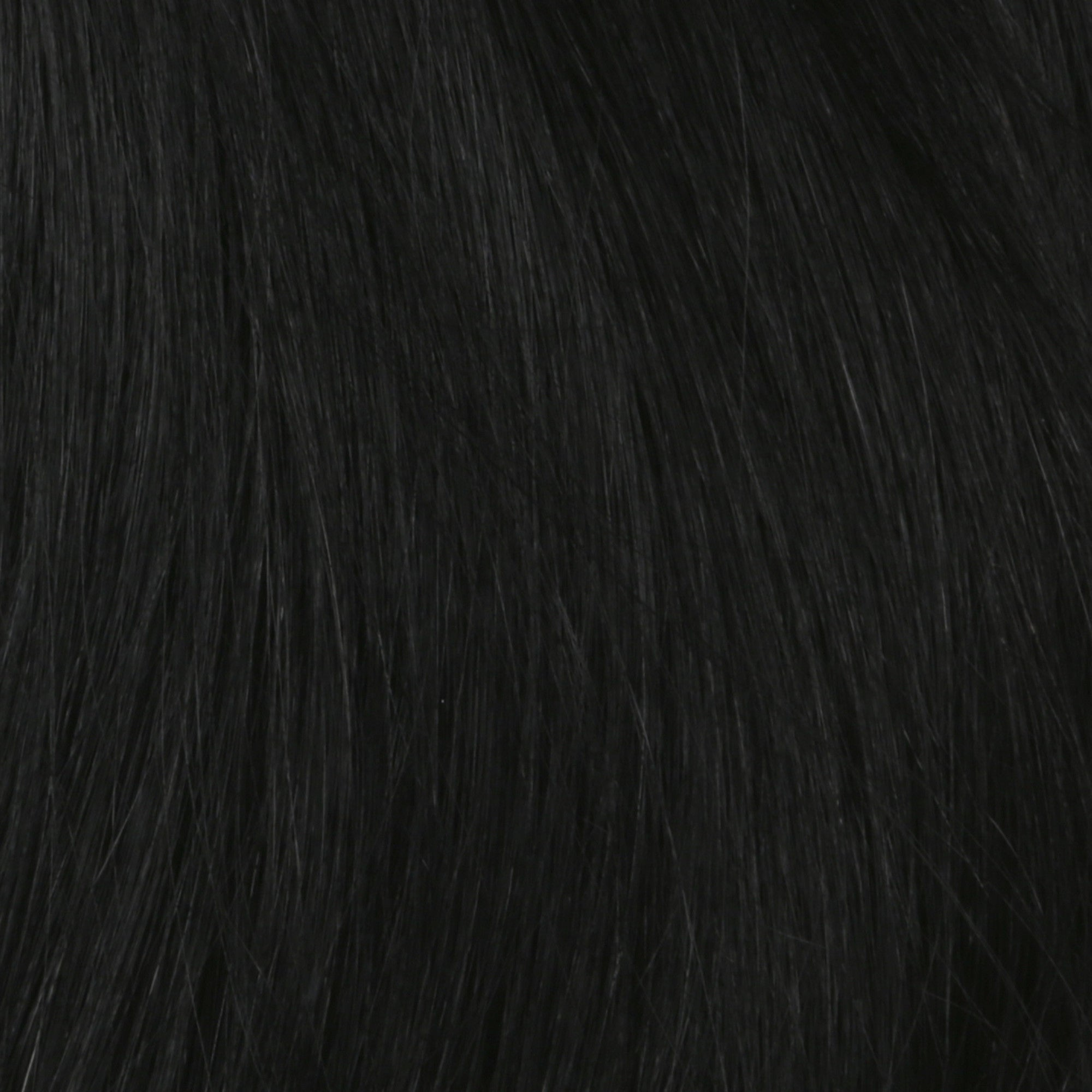 Clip in Hair Extension - Jet Black 1