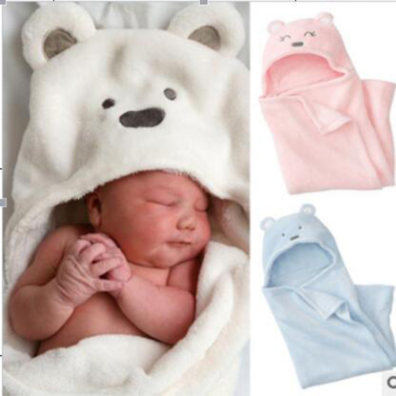 Soft and Cute Hooded Baby Animal Towel | StoreSixty.com
