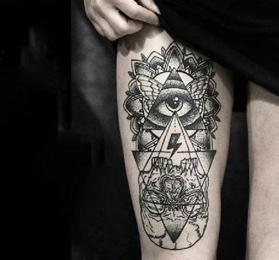 Illuminati Waterproof Temporary Tattoo Storesixty Com