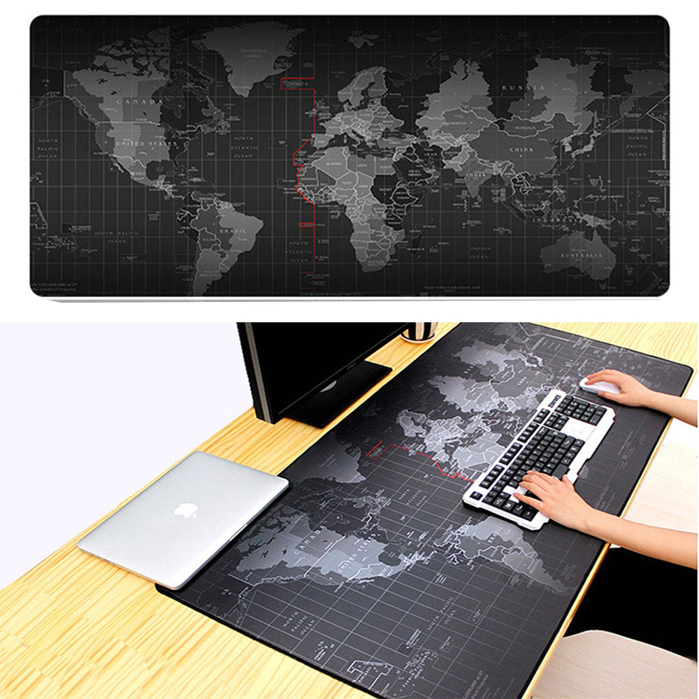 World Map Mouse Pad Storesixty Com