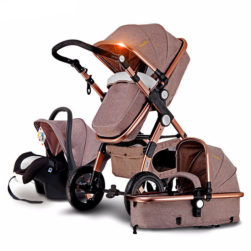 3-in-1 Prestige Baby Stroller with Car Seat Travel System ...
