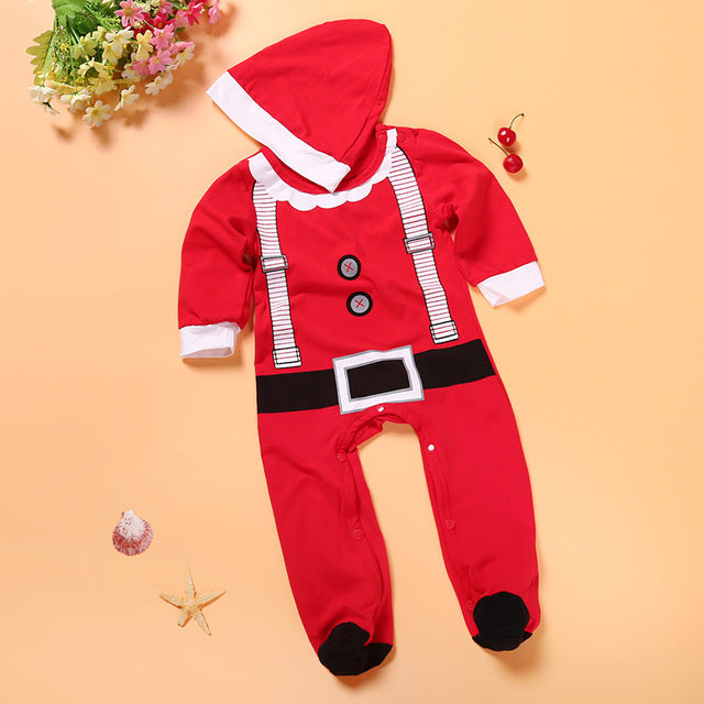 cute sleeper for babys first christmas