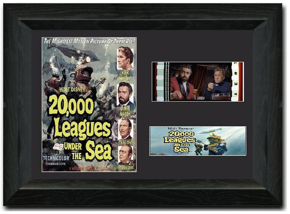 20,000 Leagues Under The Sea 35mm Framed Film Cell Display