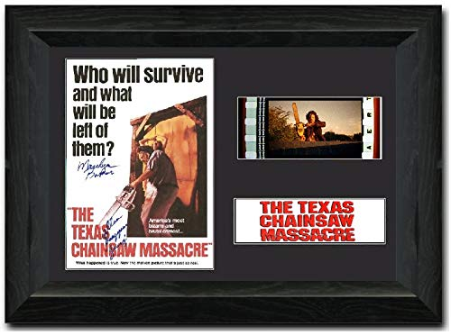 Texas Chainsaw Massacre 35mm Framed Film Cell Display