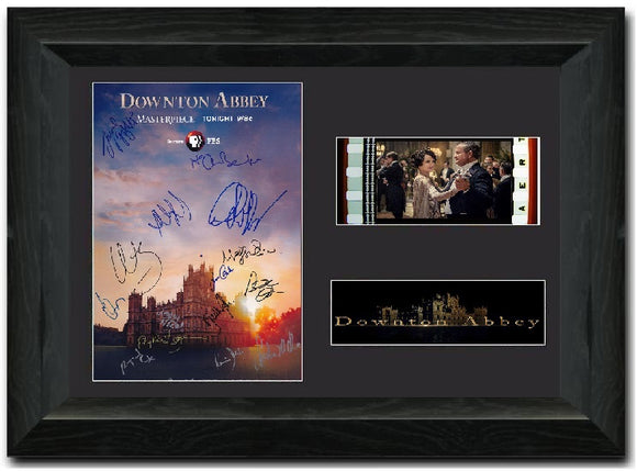 Downton Abbey 35mm Framed Film Cell Display