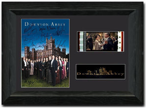 Downton Abbey S2 35mm Framed Film Cell Display