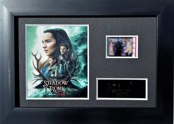 Shadow and Bone 35mm Framed Film Cell Display