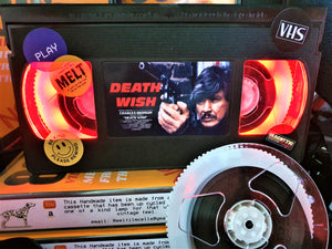Death Wish Retro VHS Lamp