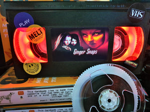 Ginger Snaps Retro VHS Lamp
