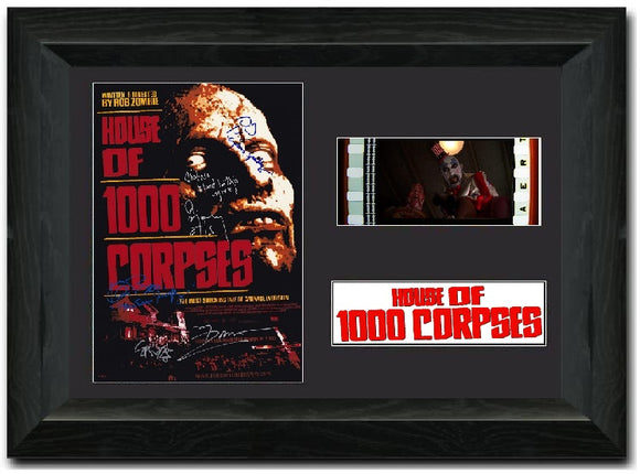 House of 1000 Corpses 35mm Framed Film Cell Display