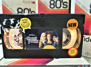Hocus Pocus Retro VHS Lamp With Art Work