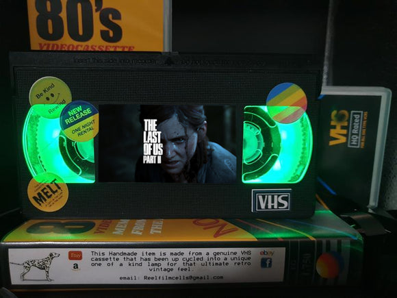 The Last of US Part 2 Retro VHS Lamp S1