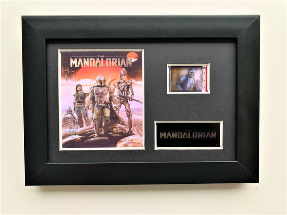 The Mandalorian S2 35mm Framed Film Cell Display - Cast Signed