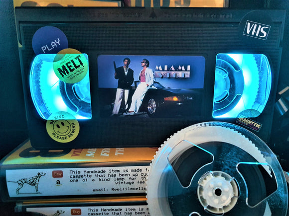 Miami Vice Retro VHS Lamp