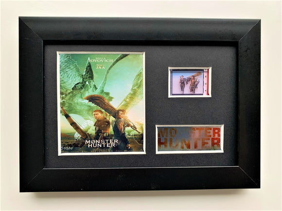 Monster Hunter S2 35mm Framed Film Cell Display