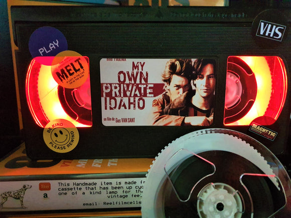 My Own Private Idaho Retro VHS Lamp