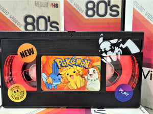 Pokemon Retro VHS Lamp With Art Work