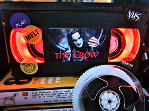 The Crow Retro VHS Lamp