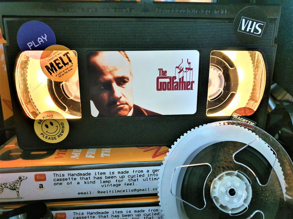 The Godfather Retro VHS Lamp