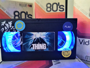 The Thing Retro VHS Lamp With Art Work