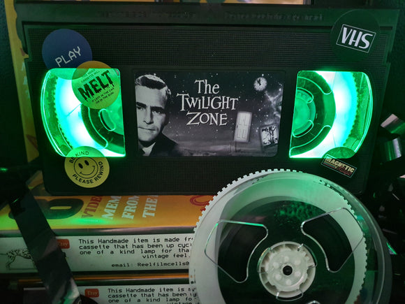 The Twilight Zone Retro VHS Lamp