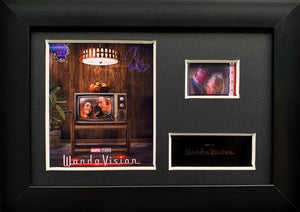 WandaVision S1 35mm Framed Film Cell Display - Cast Signed