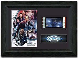 Agents of S.H.I.E.L.D. 35 mm Cast Signed Film cell Display
