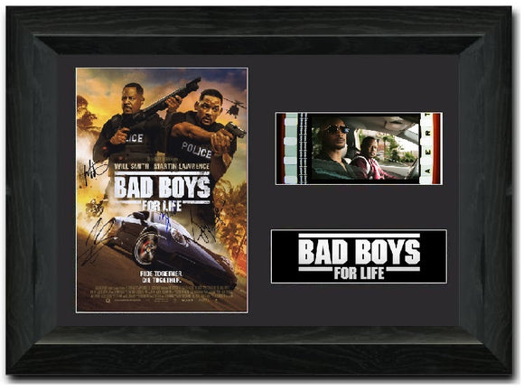 Bad Boys For Life 35mm Framed Film Cell Display Signed