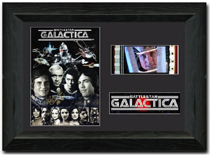 Battlestar Galactica 35mm Framed Film Cell Display