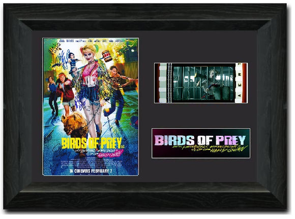 Birds of Prey 35mm Framed Film Cell Display Signed S3