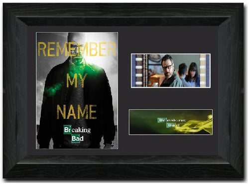 Breaking Bad S1 35mm Framed Film Cell Display