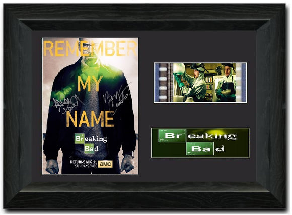 Breaking Bad S4 35mm Framed Film Cell Display
