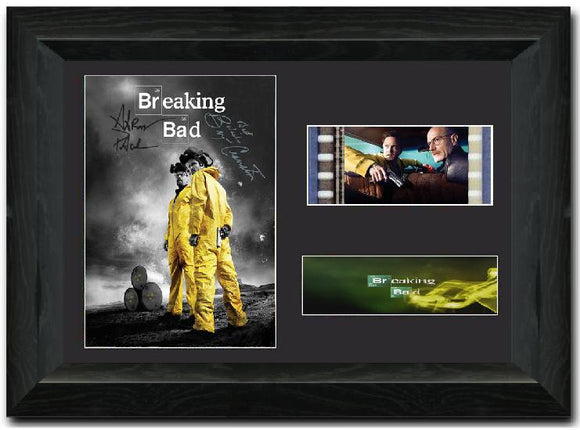 Breaking Bad S2 35mm Framed Film Cell Display