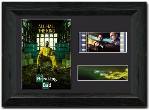 Breaking Bad S3 35mm Framed Film Cell Display