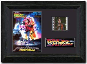 Back To The Future 2 35mm Framed Film Cell Display