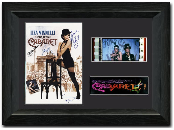 Cabaret 35mm Framed Film Cell Display