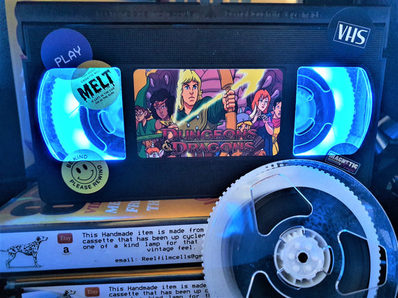 Dungeons and Dragons Retro VHS Lamp S3
